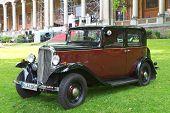 Baden-Baden, Alemanha 13 de julho: CITROEN (1935), a exposição de Internacional de carros antigos