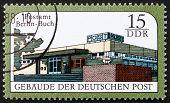 Briefmarke DDR 1988 Berlin Buch Postamt