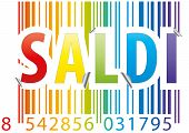 Barcode Saldi Sticker