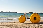 Yellow Beach Bike