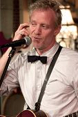 BYRAM, NJ - JULY 12: Chris Barron performs at Salt Gastropub on July 12, 2012 in Byram, NJ. The fron
