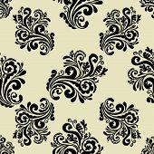 Vintage background, seamless pattern