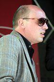 Bas Grijmans Wearing Sunglasses Plays Keyboards