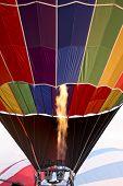 Filling Hot Air Balloon