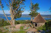 Rebuilt Celtic shack