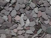 Mixed garden slate chippings
