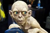 SAN DIEGO, CALIFORNIA - JULY 13: Closeup of a creature from the Lord of the rings movie at Comicon i
