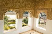 Generalife's room. Alhambra