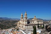 Church, Olvera, Andalusia, Spain.