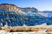 winter landscape of Utah, USA