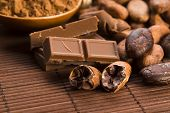 stock photo of cocoa beans  - Cocoa  - JPG