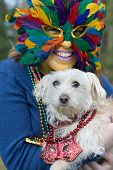 picture of mardi-gras  - mask - JPG