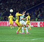 Partido de fútbol Metalist Kharkiv Vs Rapid Wien