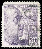 Spanish Post Stamp