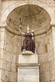 Statue Of Minerva. Campidoglio, Rome, Italy.