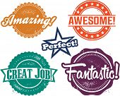 Amazing and Awesome Recognition Stamps for Homework and Tests
