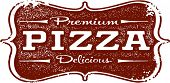 Vintage Pizzeria Pizza Sign