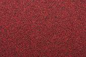 Macro Red Sandpaper