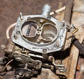 foto of carburetor  - car - JPG