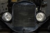 Front Of Antique Car