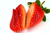 Cutted Strawberry