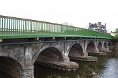 bridge over the river trent in newark, nottinghamshire, england