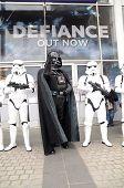 De Sci Fi Londen Parade te markeren het begin van de 2013 Sci Fi London Film Festival Stratford-Londen