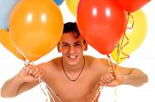 Man Valentine Balloons
