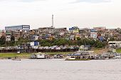 foto of negro  - Amazon River and the City of Manaus - JPG