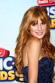 LOS ANGELES - APR 27:  Bella Thorne arrives at the Radio Disney Music Awards 2013 at the Nokia Theat