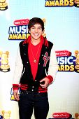 LOS ANGELES - APR 27:  Austin Mahone arrives at the Radio Disney Music Awards 2013 at the Nokia Theater on April 27, 2013 in Los Angeles, CA
