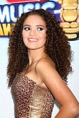 LOS ANGELES - APR 27:  Madison Pettis arrives at the Radio Disney Music Awards 2013 at the Nokia Theater on April 27, 2013 in Los Angeles, CA