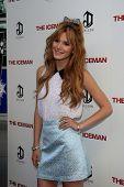 LOS ANGELES - APR 22:  Bella Thorne arrives at
