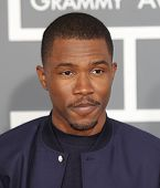 LOS ANGELES - FEB 10:  Frank Ocean arrives to the Grammy Awards 2013  on February 10, 2013 in Los An