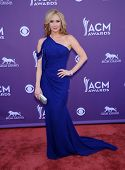 LAS VEGAS - MAR 12:  Ashley Jones arrives to the Academy of Country Music Awards 2013  on April 07, 2013 in Las Vegas, NV.