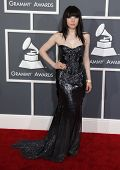 LOS ANGELES - FEB 10:  Carly Rae Jepsen arrives to the Grammy Awards 2013  on February 10, 2013 in L