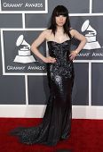 LOS ANGELES - FEB 10:  Carly Rae Jepsen arrives to the Grammy Awards 2013  on February 10, 2013 in Los Angeles, CA.