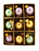 Christmas Decoration Bubbles In Box