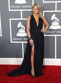 LOS ANGELES - FEB 10:  Miranda Lambert arrives to the Grammy Awards 2013  on February 10, 2013 in Lo