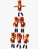 Nussknacker Spielzeugsoldaten