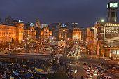 Kiev Evening Maydan 28 11 2013