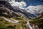 View Of Stelvio Pass