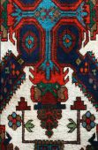 Fragment Of The Oriental Folk Art Carpet