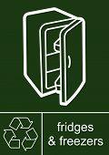 Sign fridges freezers