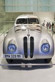Munich -germany, June 17: Bmw 328 Mm Race Shown In Bmw Museum In June 17, 2012, Munich