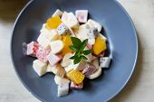 A delightful medley of fresh fruit