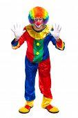 Full length clown portrait