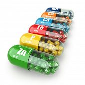 image of antibiotics  - Dietary supplements - JPG