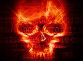 Hacker Attack Concept Backround