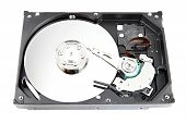 The Hard Drive Open The Top Cover Off.